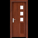 PVC Wooden Finish Door