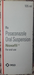 Posaconazole Oral Suspension, Packaging Size: 105 Ml, MSD
