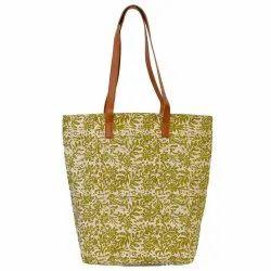 Organic Designer Canvas Bag