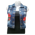 Denim Ladies Top
