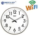 Safetynet 4K HD Home Security Wireless WiFi Wall Clock Spy Hidden Camera