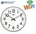 Safetynet 4K HD Home Security Wireless WiFi Wall Clock Spy Hidden Camera