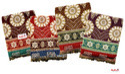 Multicolor Floral Print Pooja Solapuri Chaddar Blankets 100% Cotton, Type: Double