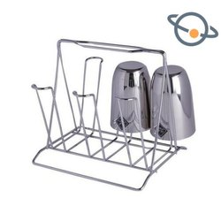 Stainless Steel Glass Stand