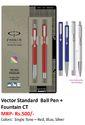 Parker Vector Standard Ball Pen  Fountain CT