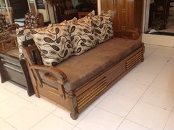 Wooden Sofa Cumbed
