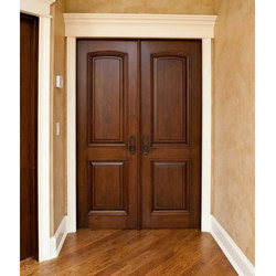 Teak Wood Double Door in Chennai, Tamil Nadu | Get Latest ...