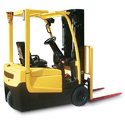 Three Wheel Battery Operated Forklift Rental Service