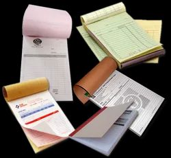 A4, A5 Paper Bill-Book Printing Services, in pan India, Black And White