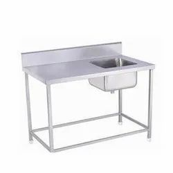 Sink Table with 1 Under shelf