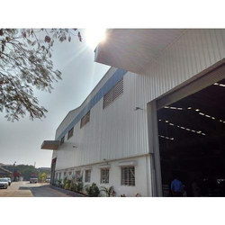 MS and FRP Prefabricated Warehouse Shed