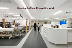 Hospital Interior Designing Services, in Commercial