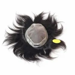 Human Hair Mens Patch and Toupee 10X8