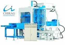 Semi-Automatic Cement Brick Making Machine