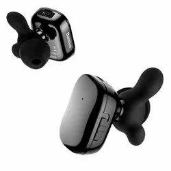 Black Baseus Encok W02 TWS Truly Wireless Headset for Bluetooth V 4.2