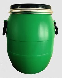Multicolor Plastic 20 Liter HDPE Open Mouth Drum, For Packaging Industry