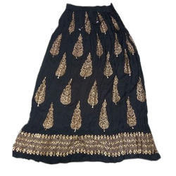 Jaipuri Print Rayon Long Skirt