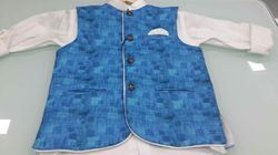 Boys Cotton Party Wear Jacket Shirt