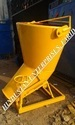 Banana and Cone Type Concrete Buckets
