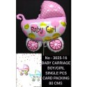 Baby Carriage Foil Balloons