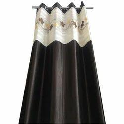 V Decor Dark Brown Bedroom Curtain