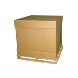 Brown Rectangular Industrial Corrugated Boxes With Shelves, >25 kg