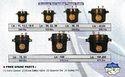 11 Litres Aluminum Jumbo Pressure Cooker 12 Quarts