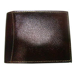 Brown Mens Synthetic Leather Wallet