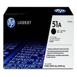 HP Q7551A 51A Black Laser Toner Printer Cartridge