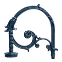 DBR-003 Cast Iron Street Bracket