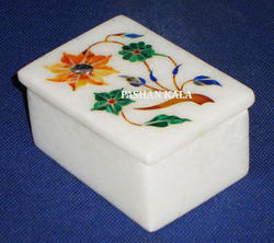 Marble Stone Inlaid Box