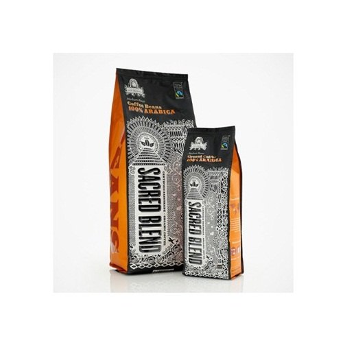 Plastic Printed Coffee Side Gusseted Pouch