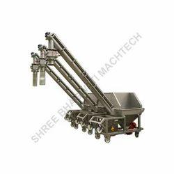 Haldi Powder Screw Conveyor