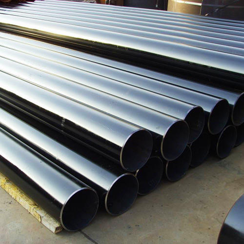 Steel Black Erw Black Pipes, Size: 3 Inch