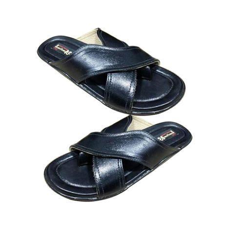 aee4c4539c0 Mens Cross Strap Slippers