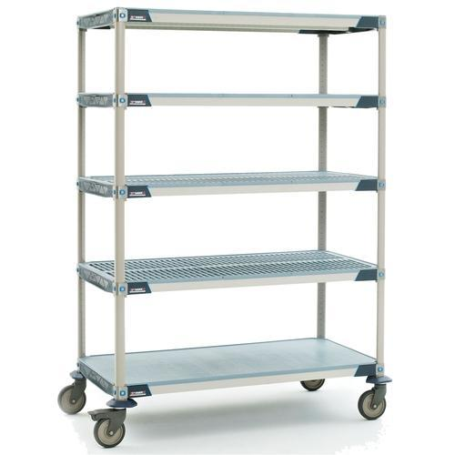 Blue Sky Stainless Steel Anti Static Cleanroom Storage Cart, for Industrial