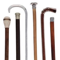 Wooden and Metal Walking Sticks