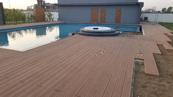 Walnut WPC Decking