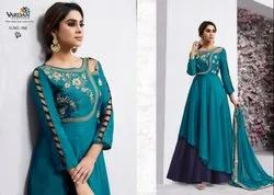 Vardan Designer Navya Vol 6 Colourful Anarkali Long Gown Collection