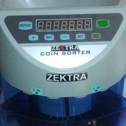 Fully Automatic Zektra Coin Sorter Machine