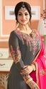 Designer  Georgette Suits With Embroidery