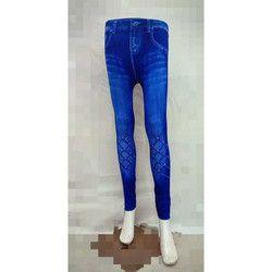 Denim Look Leggings