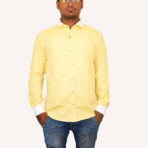 Men s Cotton Plain Semi Formal Shirt at Rs 400  piece  2dd79771c