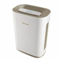 Maximum 53 W Aluminum Honeywell Air Purifier, Golden And White, Automation Grade: Automatic