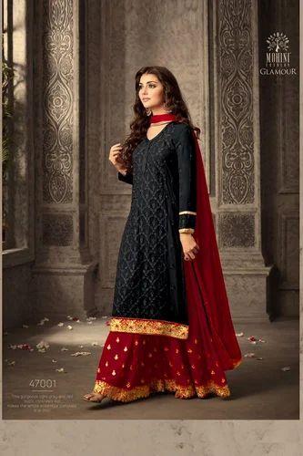 12a382ce06 New Designer Mohini Sarara Salwar Suit, Pakistani Lawn Suits ...