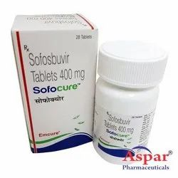 Sofocure Tablets, Packaging Size: Pack of 28 tablets , for Hepatitis Treatment Drugs