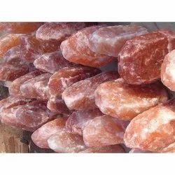 Solid 50 Kg Rock Salt Lump, Packaging Type: Plastic Bag, Grade: Food Grade