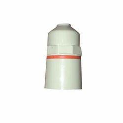 Plastic Alpha White Bulb Holder