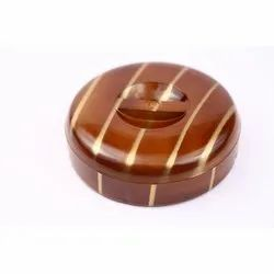 Mini Commander Wooden Dryfruit Box
