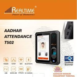 Realtime T502 Aadhar Enabled Biometrics Attendance Systems